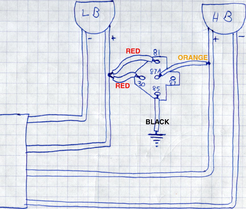 wiringharnesstorelay bmw e34 hid kit install bmw e34 wiring diagram at mifinder.co