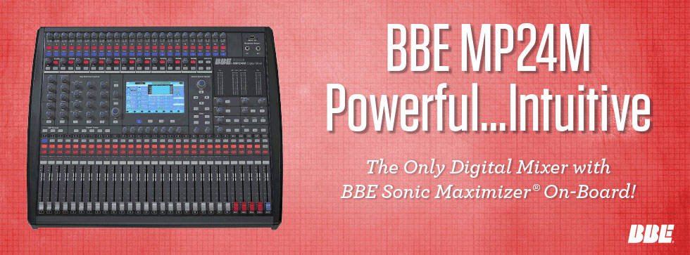 BBE MP24M Digital Mixer