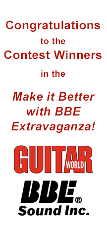 Guitar World / BBE Make it Better With BBE Extravaganza