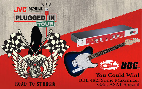bbe sound news jvc mobile plugged in road to sturgis tour. Black Bedroom Furniture Sets. Home Design Ideas